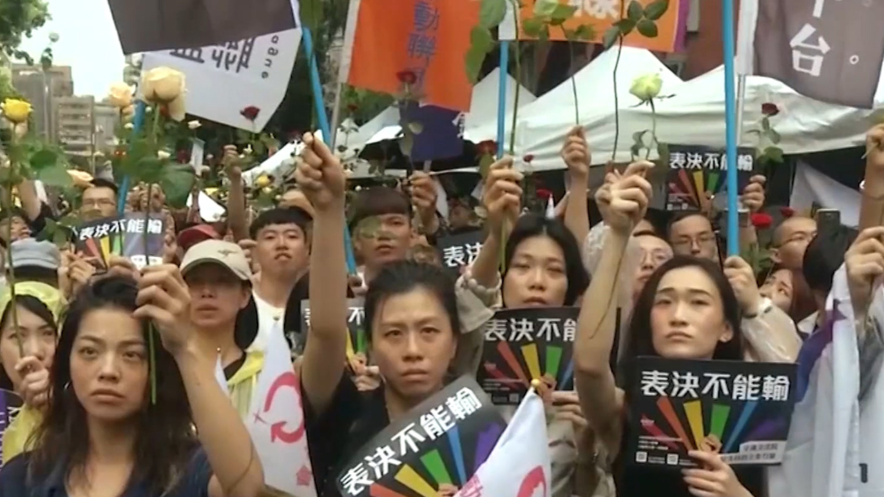 51-1 Taiwan Becomes First Asian Country to Legalize Same-Sex Marriage