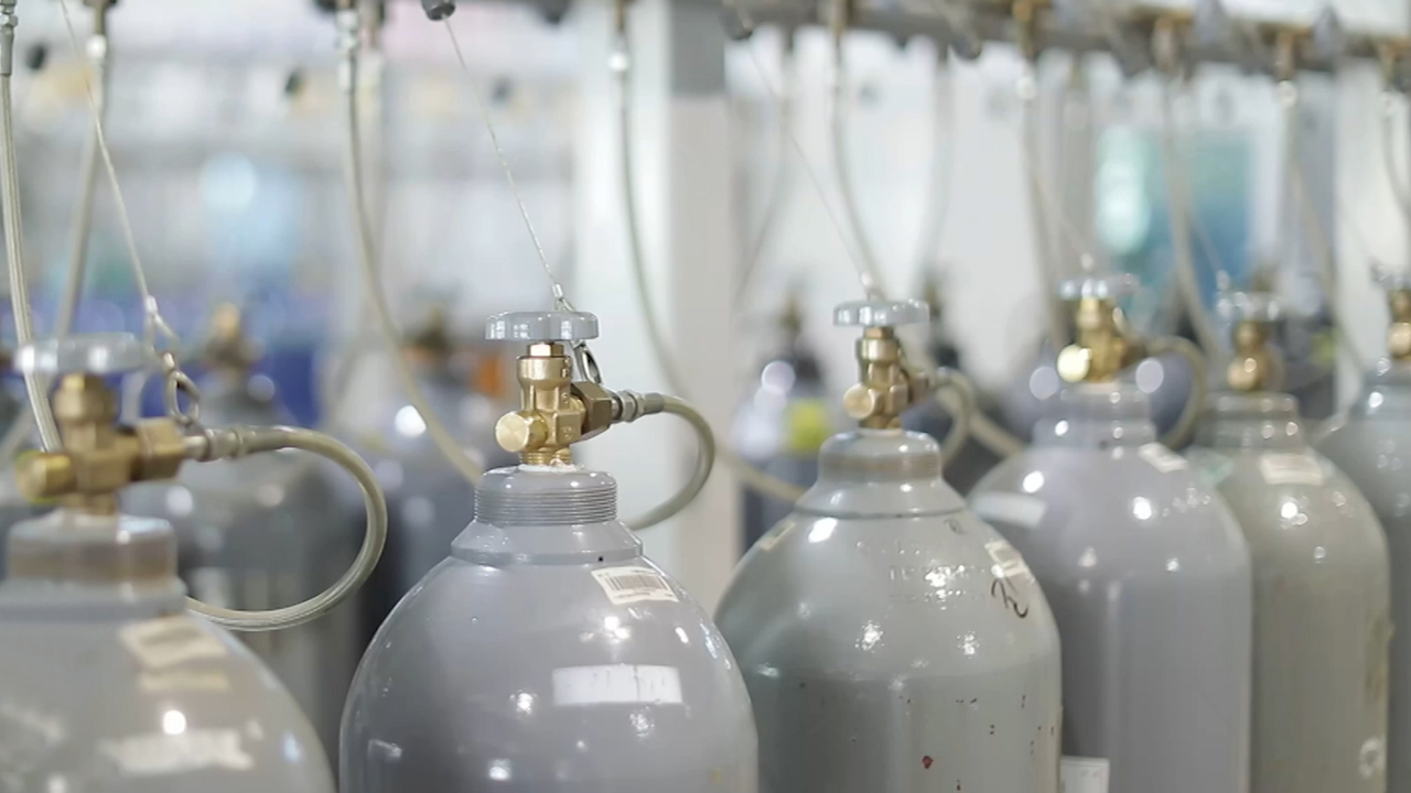 Gaschem technology, supplying highly purified gas for the industrial sector