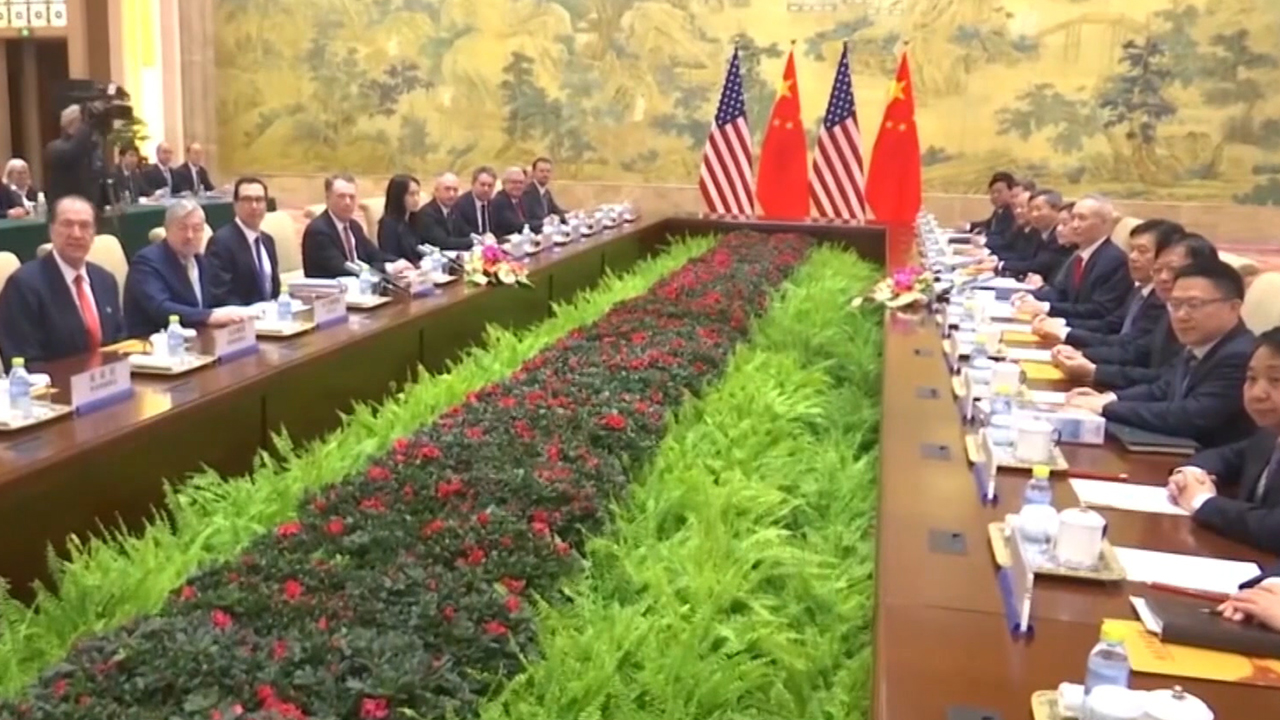 54-4 U.S.-China Trade War Hanging in the Air