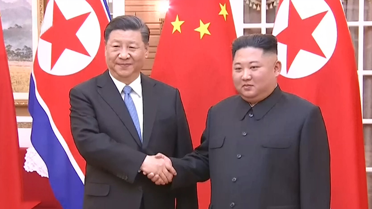 55-3 XI's Visit To N. Korea... First N. Korea-China Summit In Pyeongyang In 14 Year