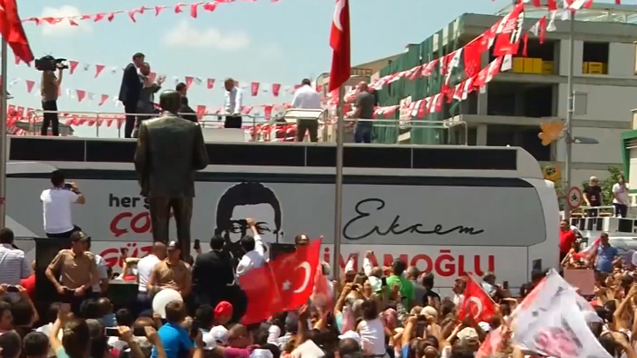 56-2 The result of Istanbul mayoral election