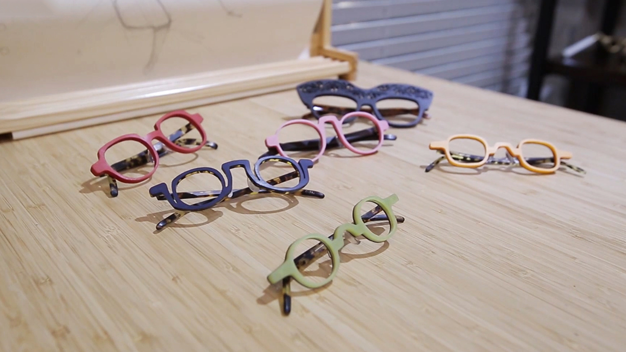 [ Artist ] Hand-crafted Eyewear by Kim Zone-feel