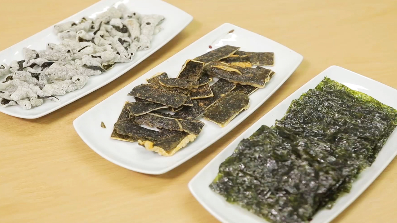 TAEKYUNG FOOD, specializing in processing laver by using high-quality seaweed
