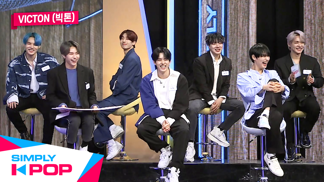 [Simply K-Pop] ★Special with VICTON★ VICTON's Ranking & MV Commentary Time