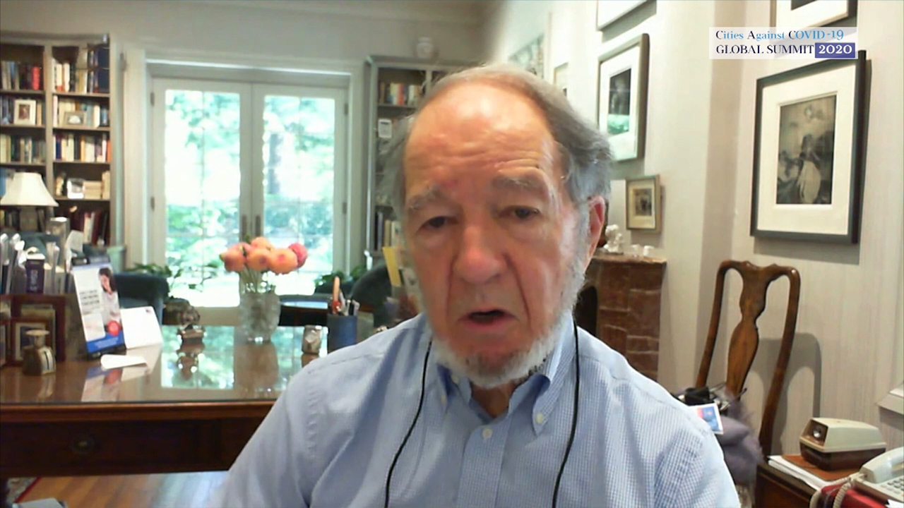 CAC Global Summit 2020 To Gether We Stand | Conversation with Jared Diamond