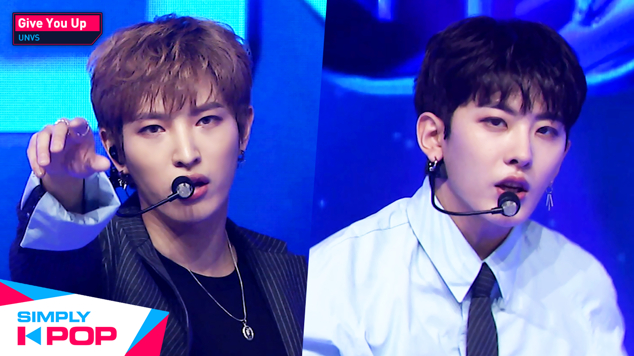 [Simply K-Pop] UNVS - Give You Up _ Ep.418