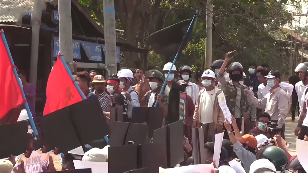 Ep.133 Myanmar civilians call for democracy as the world condemns the junta's violence
